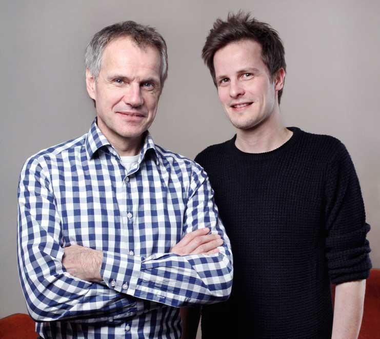 Pierre Brand und Sascha Prangen